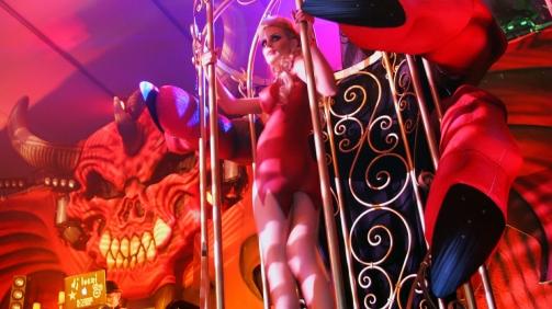 Playboy Mansion Halloween Party Art