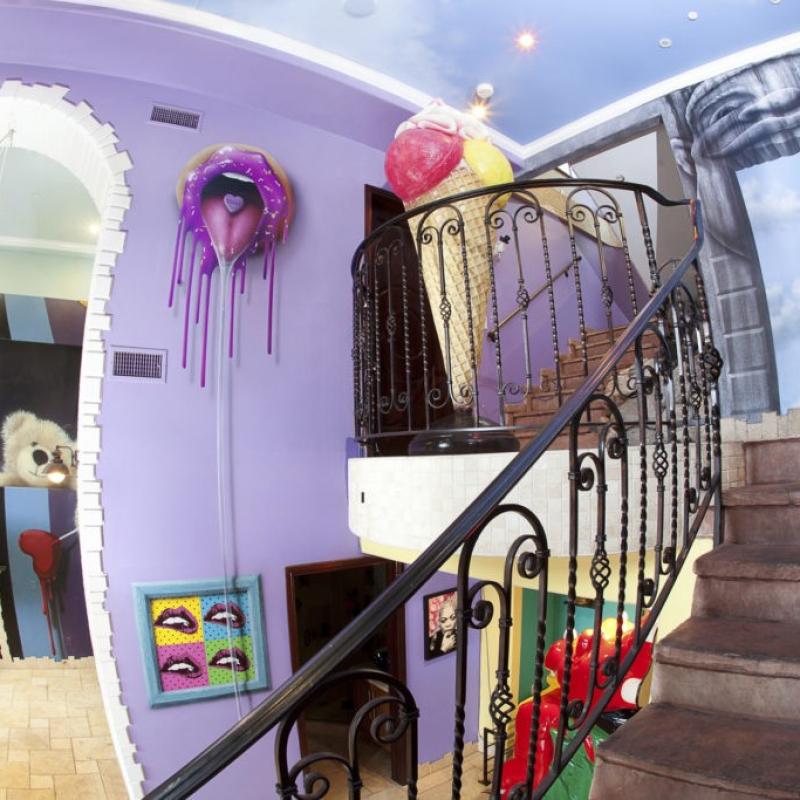 MTV Reality Show Todrick Hall Mural Art
