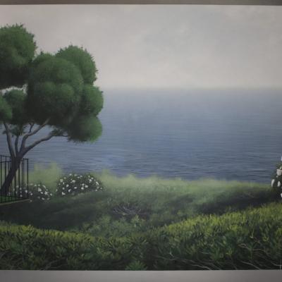 Alien Invasion Black Light Painting