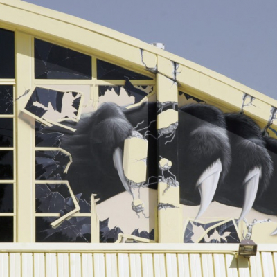 Panthers Newbury Park High School Mural