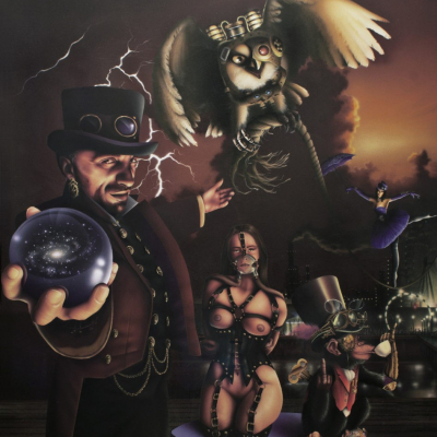 Steam Punk with Carnival Mural Painting