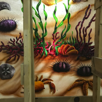 Glass Under the Sea - Glass Art